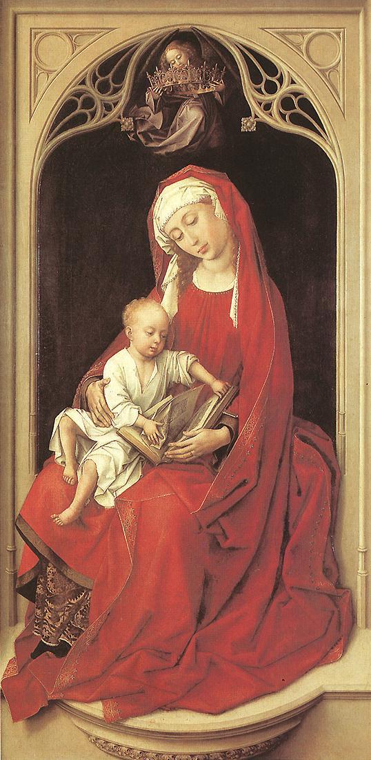 Рогир ван дер Вейден. Дева с младенцем