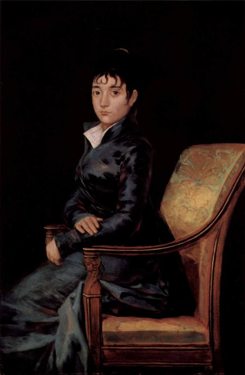 Франсиско Гойя. Портрет доньи Терезы Суреда