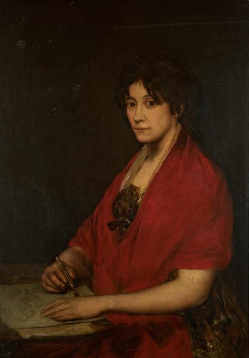Francisco Goya. Portrait of a Woman (Portrait of the Artist Lola Jimenes)