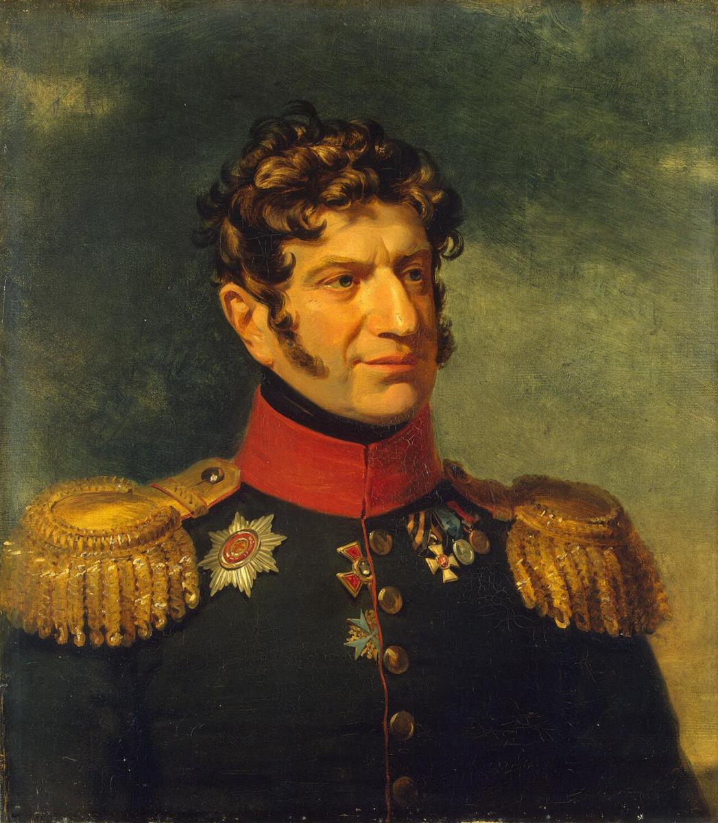 Джордж Доу. Портрет Александра Владимировича Розена