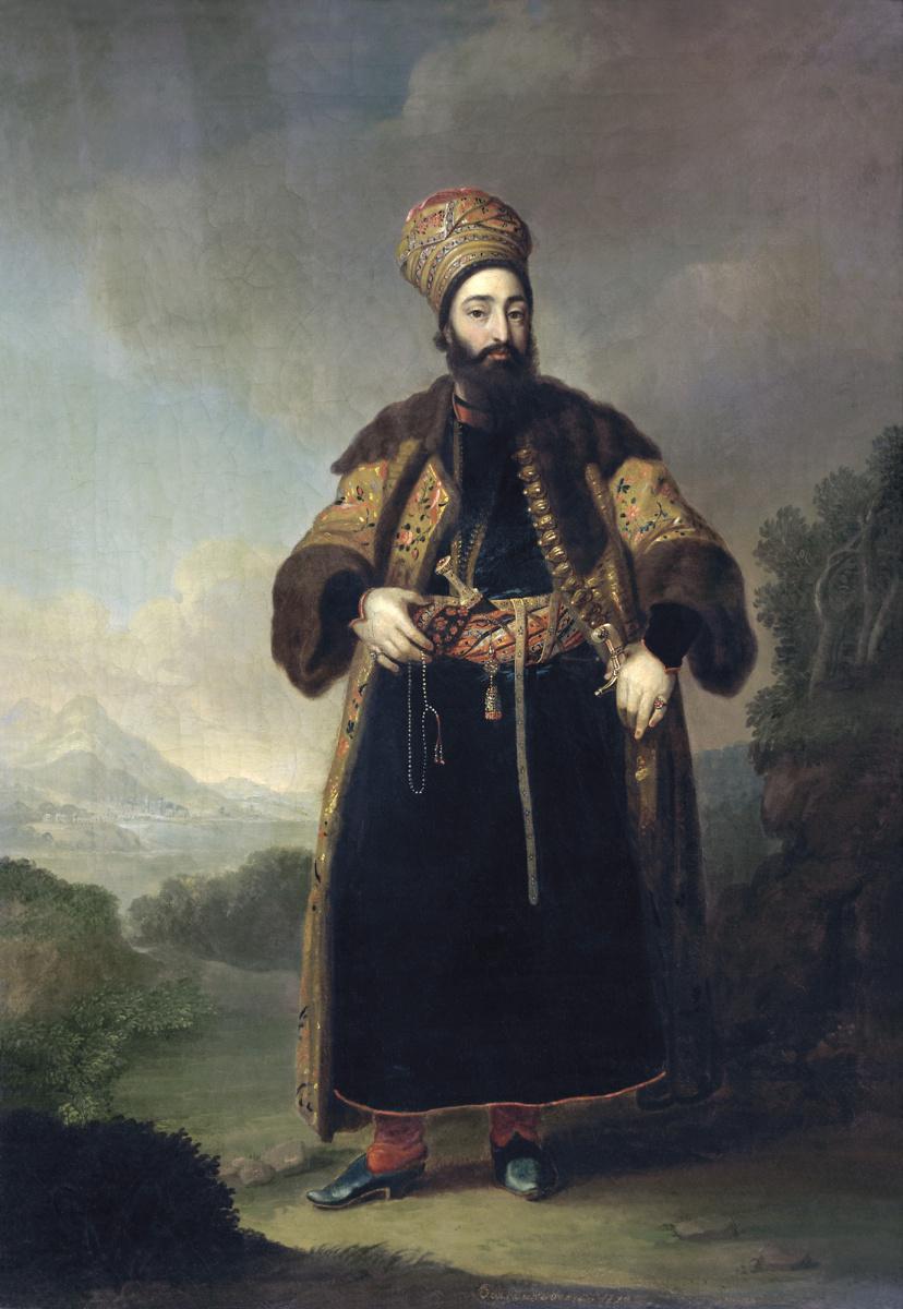 Владимир Лукич Боровиковский. Портрет Муртазы-Кули-хана