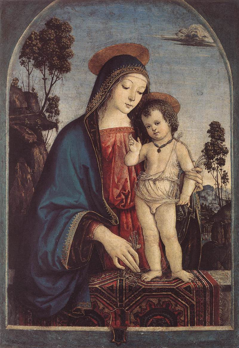Пинтуриккио. Мадонна с младенцем