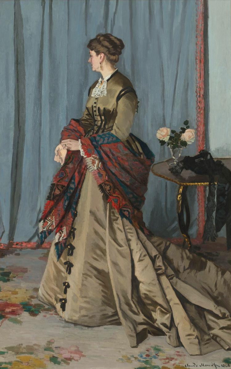 Клод Моне. Портрет мадам Годибер