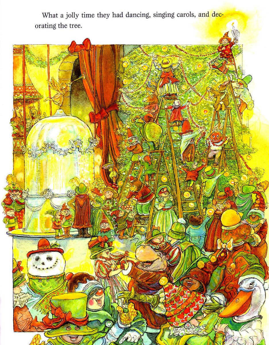 Стивен Келлог. Рождественская ведьма 12