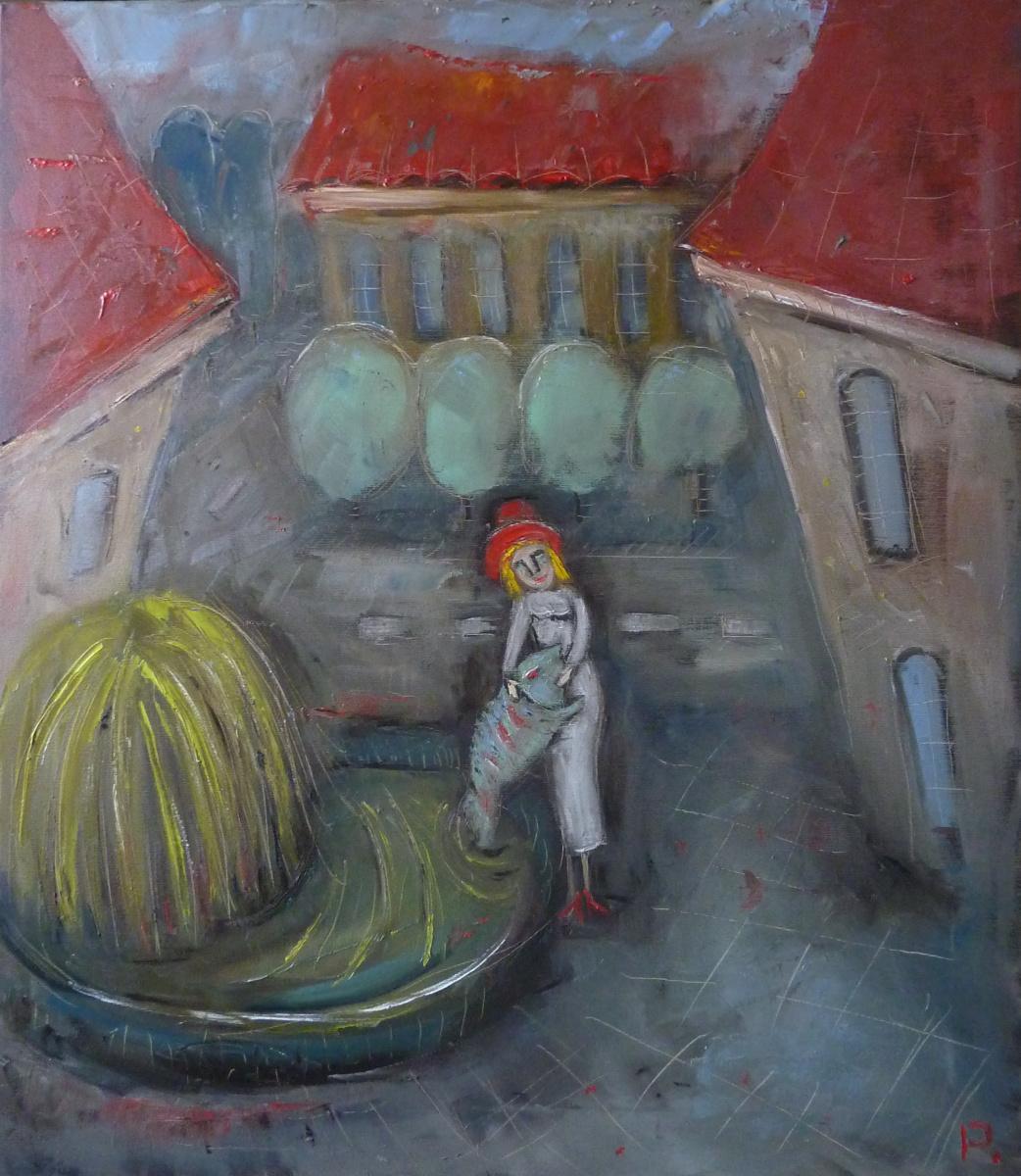 Svyatoslav Svyatoslav Ryabkin Ryabkin. Girl and fish Girl and fish