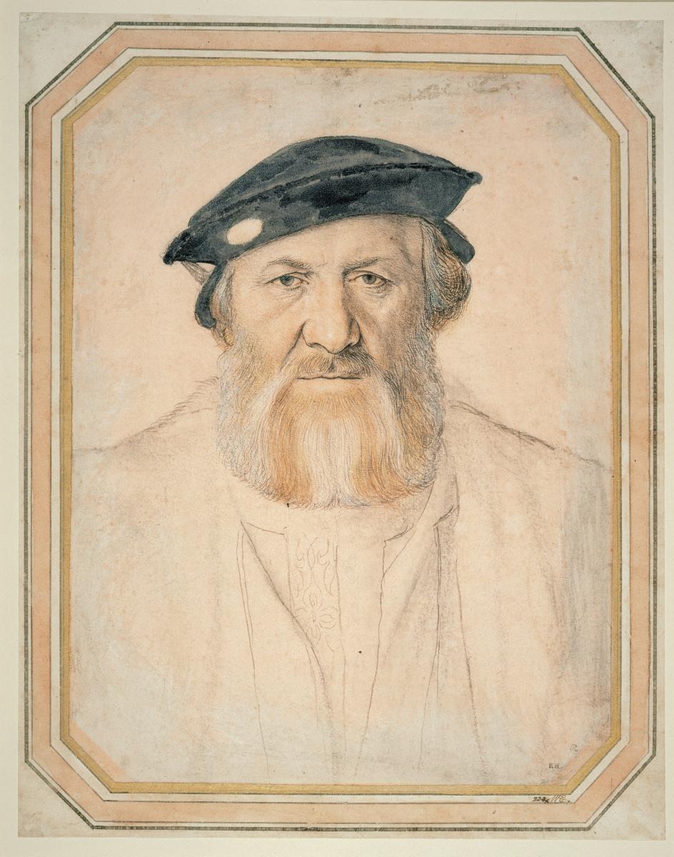 Ганс Гольбейн Младший. Портрет Шарля де Солье, сира де Моретта