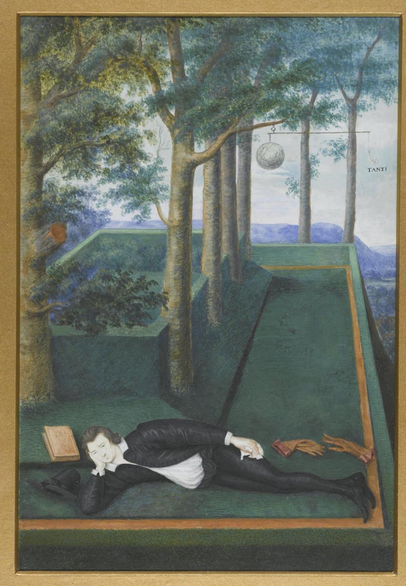 Nicholas Hilliard. Portrait of Henry Percy, ninth Earl of Northumberland