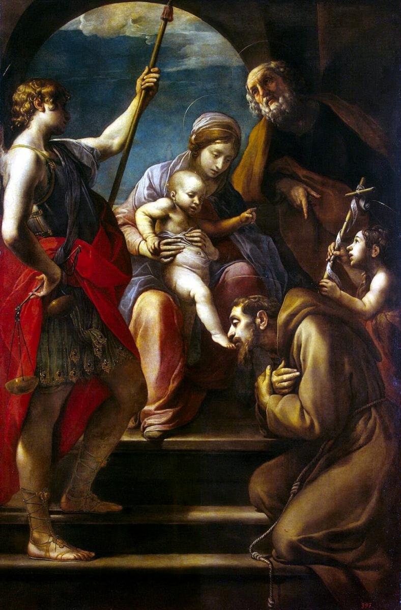 Алессандро Тиарини. Святое Семейство