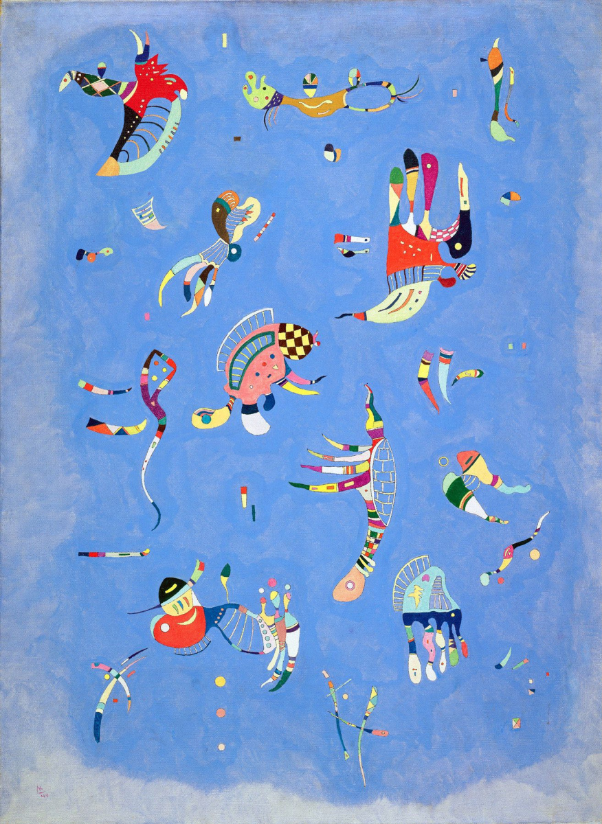 Wassily Kandinsky. Blue sky