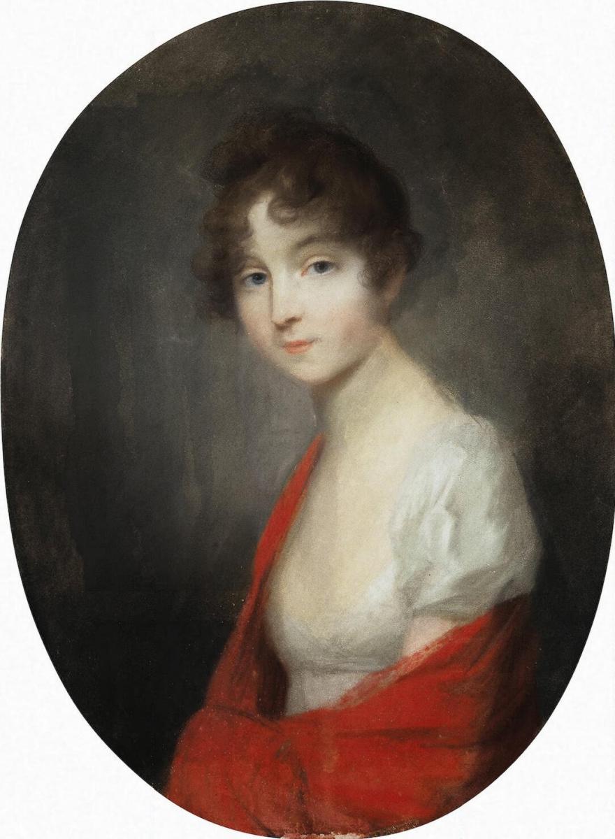 Иоганн Фридрих Август Тишбейн. Портрет молодой дамы