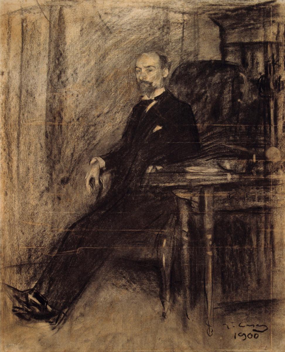 Рамон Касас Карбо. Портрет Франческа де Соджо