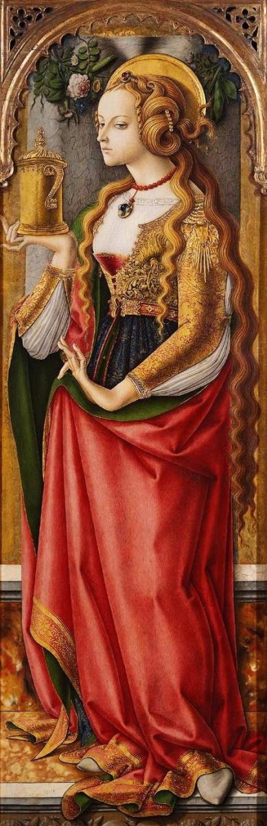 Карло Кривелли. Святая Мария Магдалина
