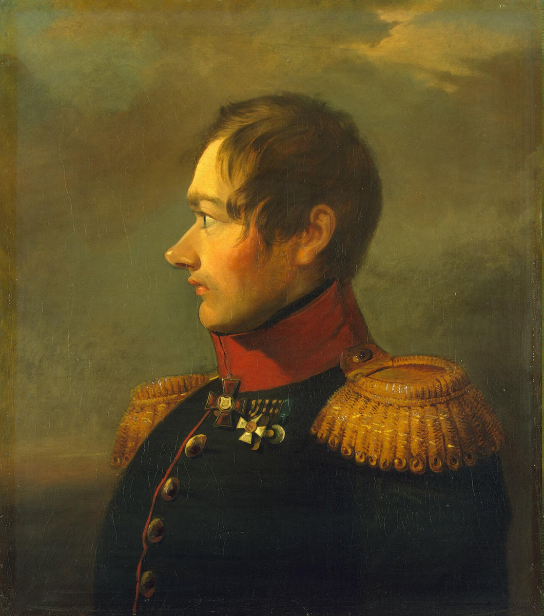 Томас Доу. Портрет Федора Андреевича Линдфорса