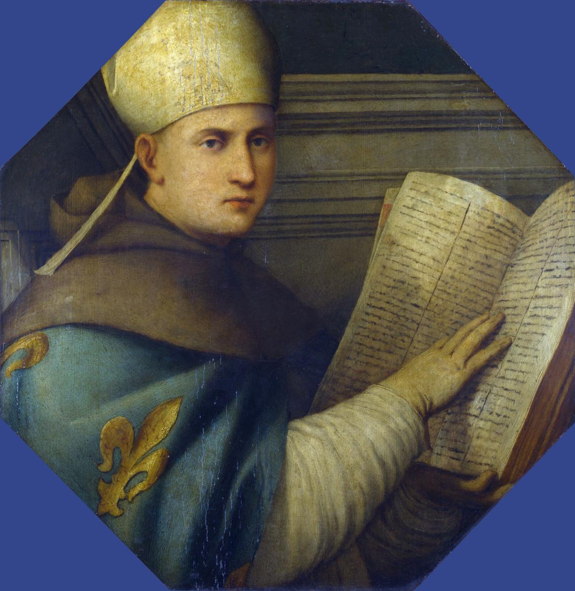Джованни Антонио де Лодесанис Порденоне. Святой Луиз Тулузский