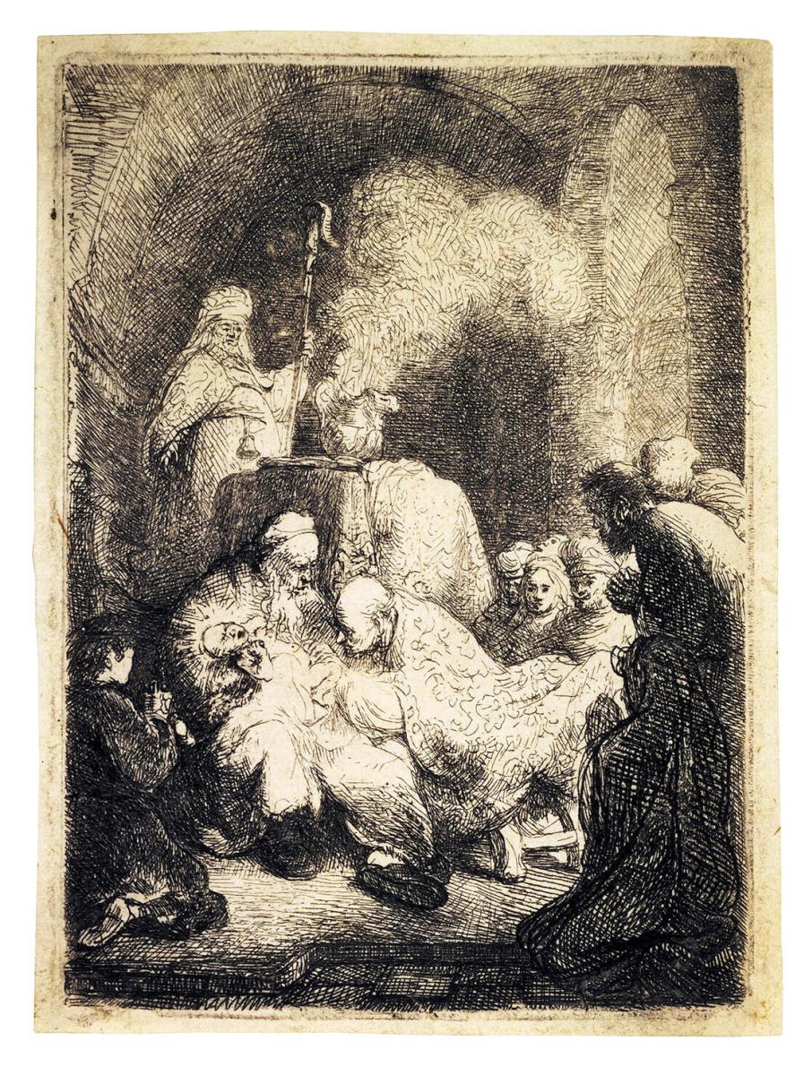 Рембрандт Ван Рейн. Обрезание