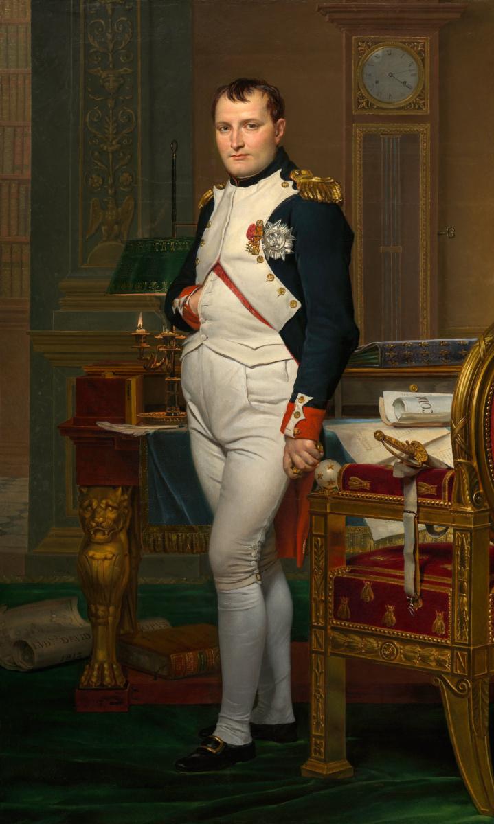 Жак-Луи Давид. Наполеон Бонапарт в рабочем кабинете в Тюильри