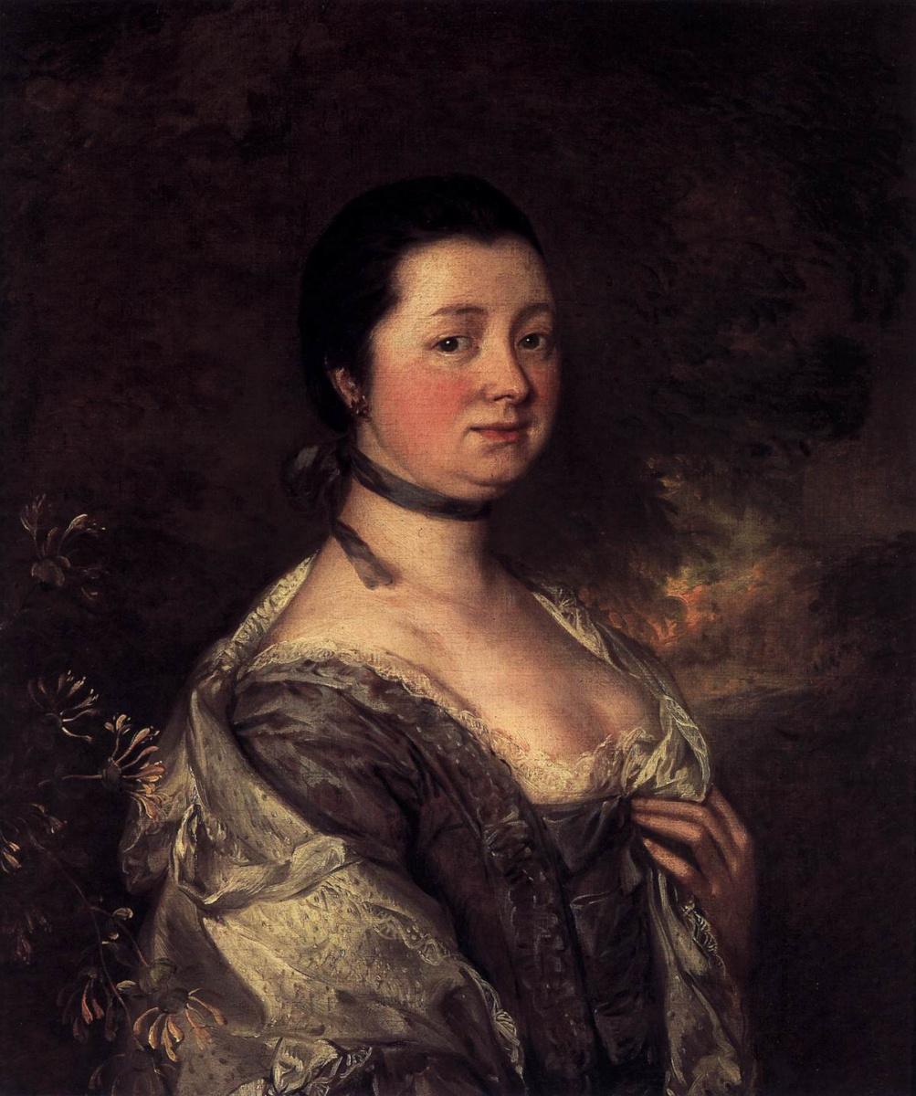 Томас Гейнсборо. Портрет миссис Гейнсборо, жены художника