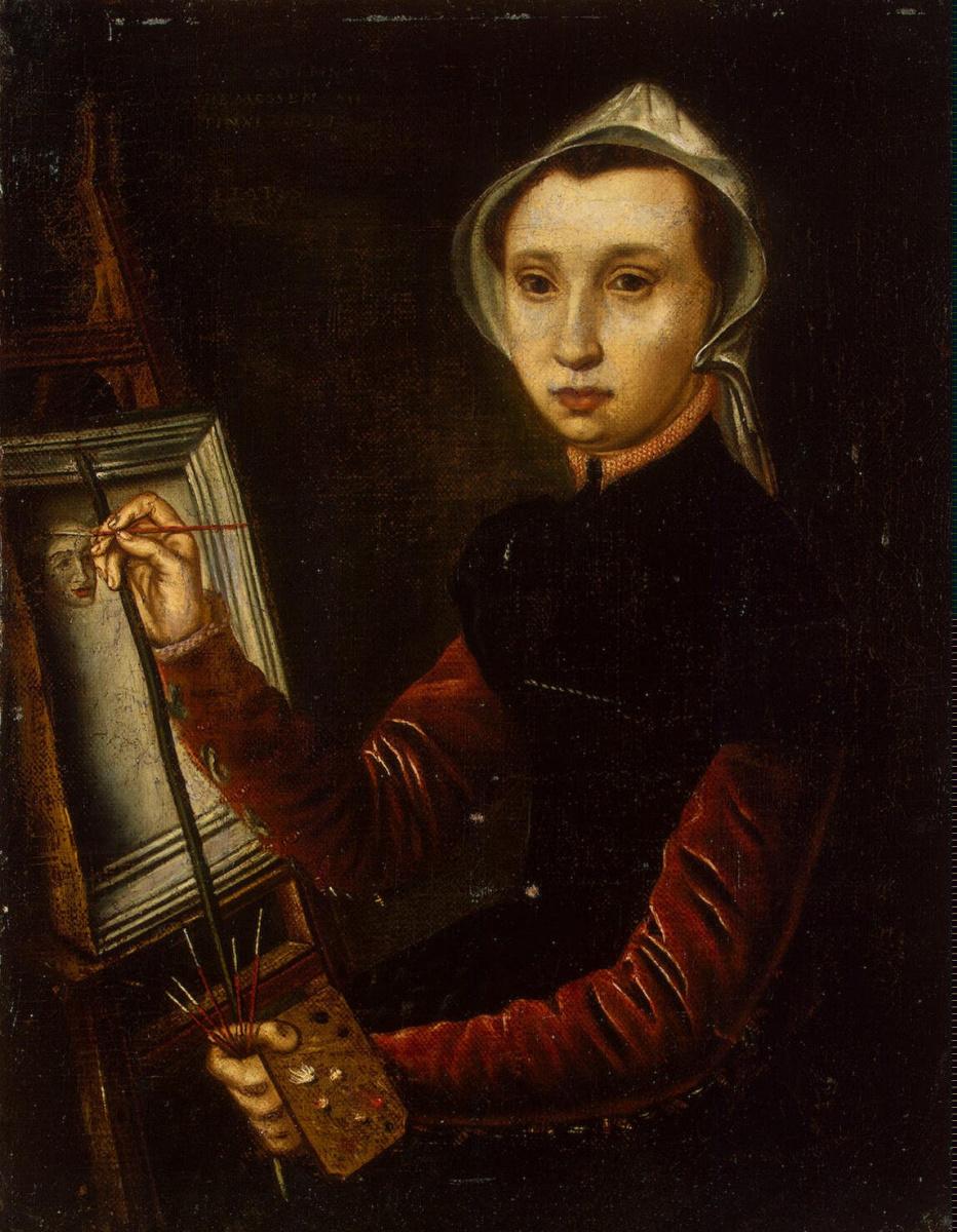 Катарина ван Хемессен. Автопортрет
