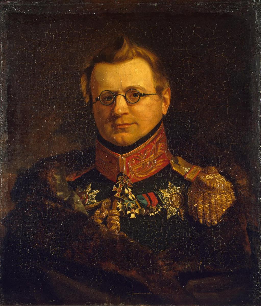 George Dow. Portrait Of Stanislav S. Pototsky