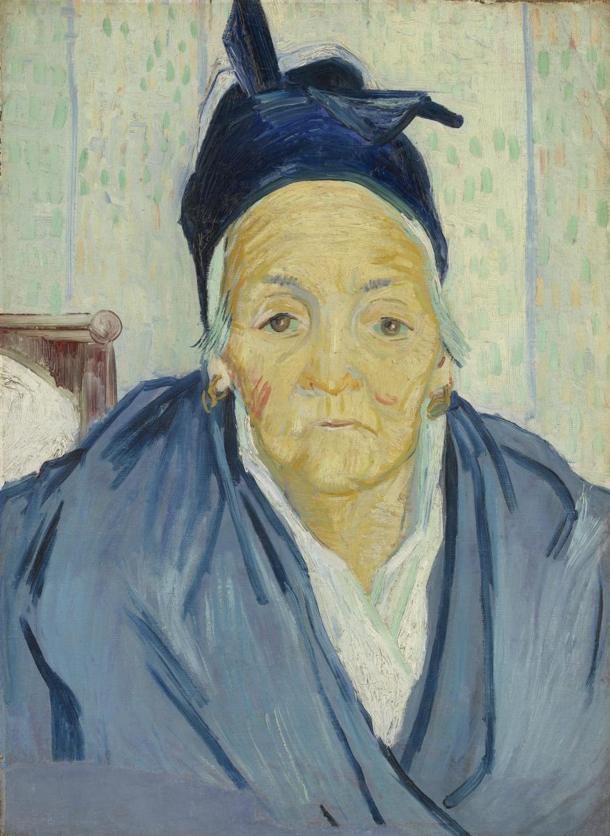 Винсент Ван Гог. Портрет пожилой женщины из Арля