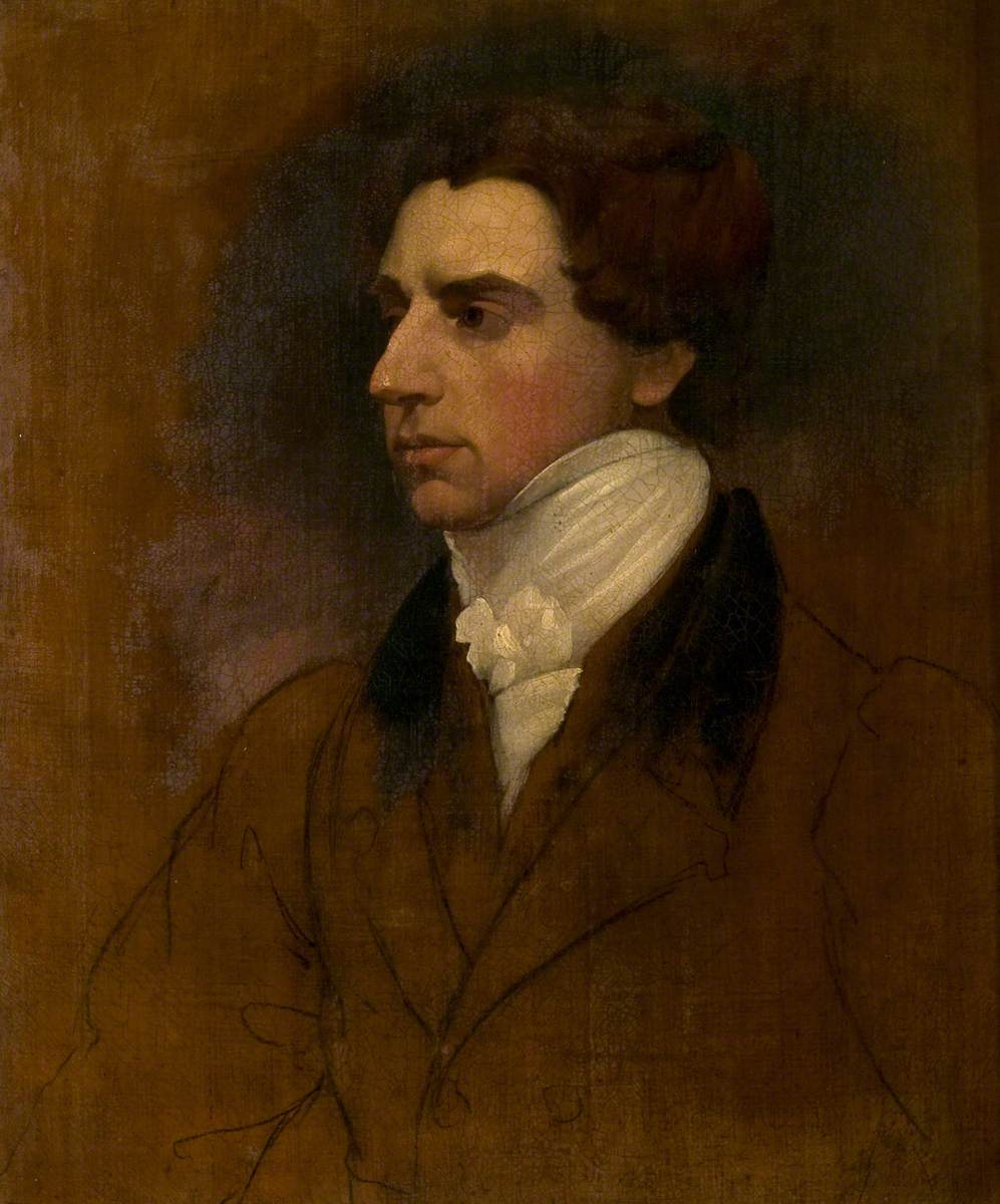 John Constable. Portrait of a man (unfinished)