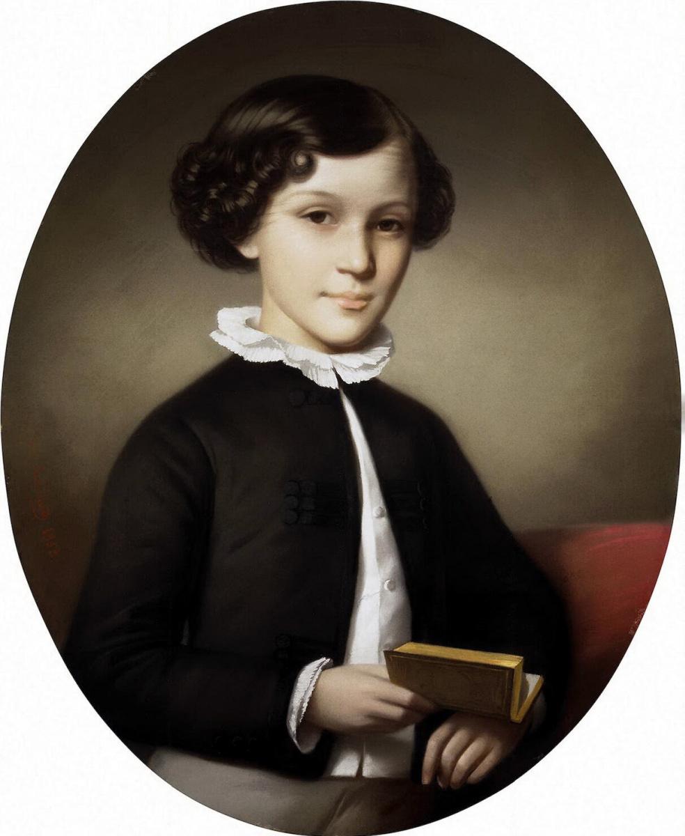 Ипполит Робийяр. Портрет мальчика