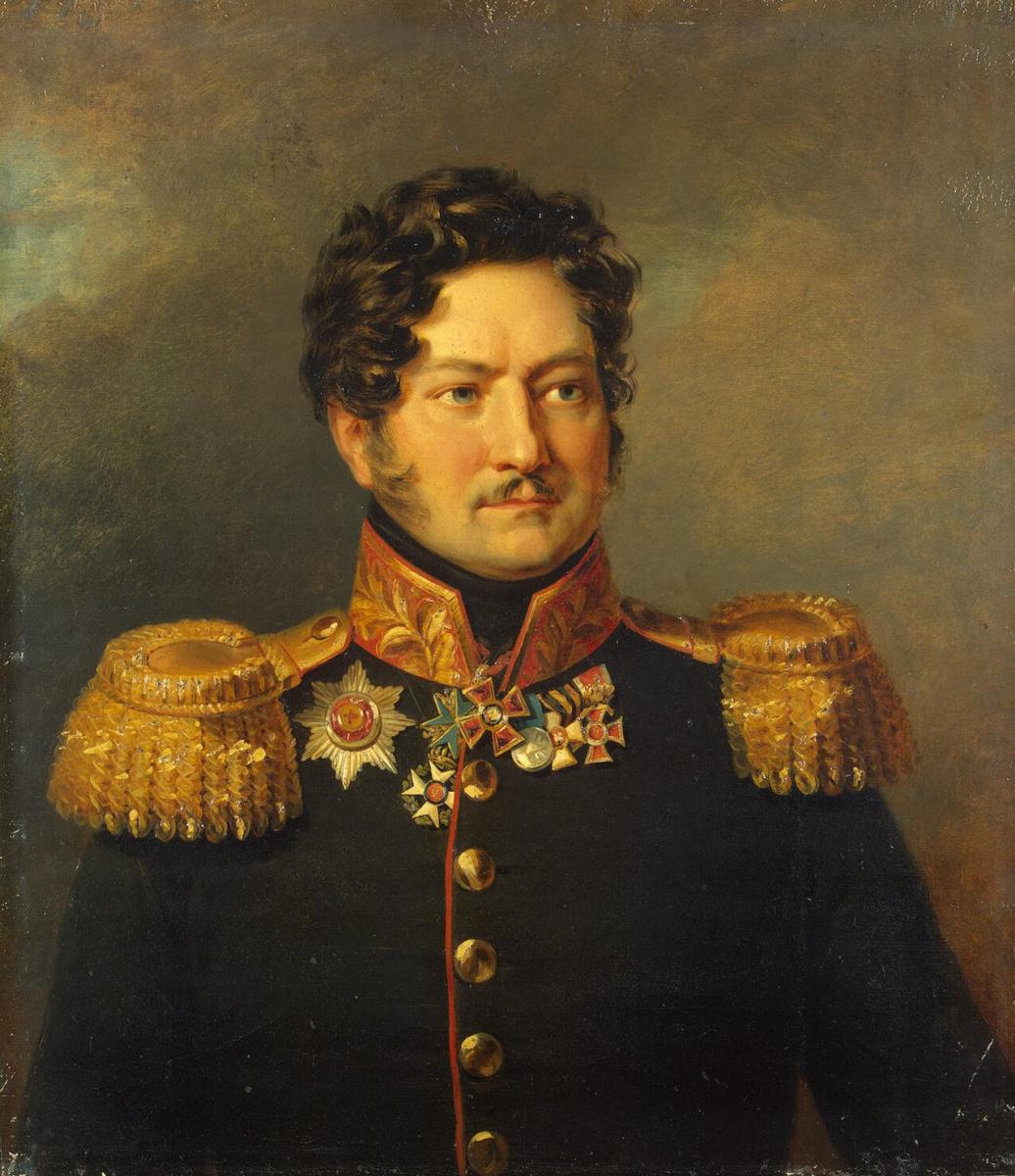 George Dow. Portrait of Dmitry L. Ignatiev