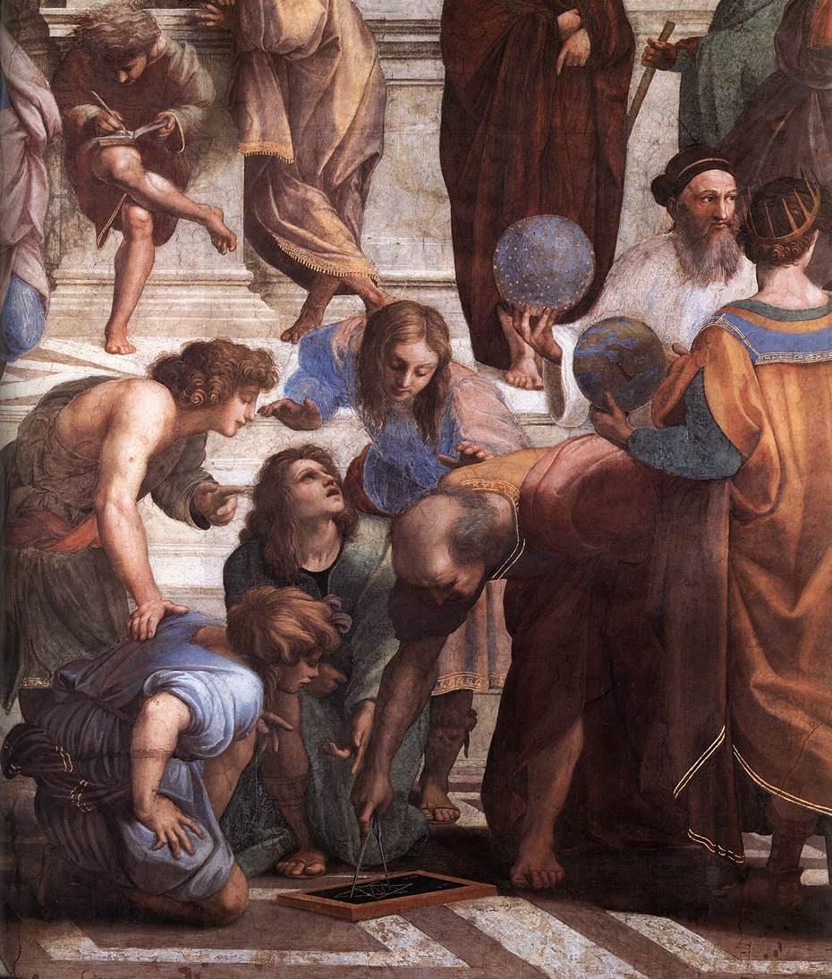 Рафаэль Санти. Станцы Ватикана. Фрагмент2