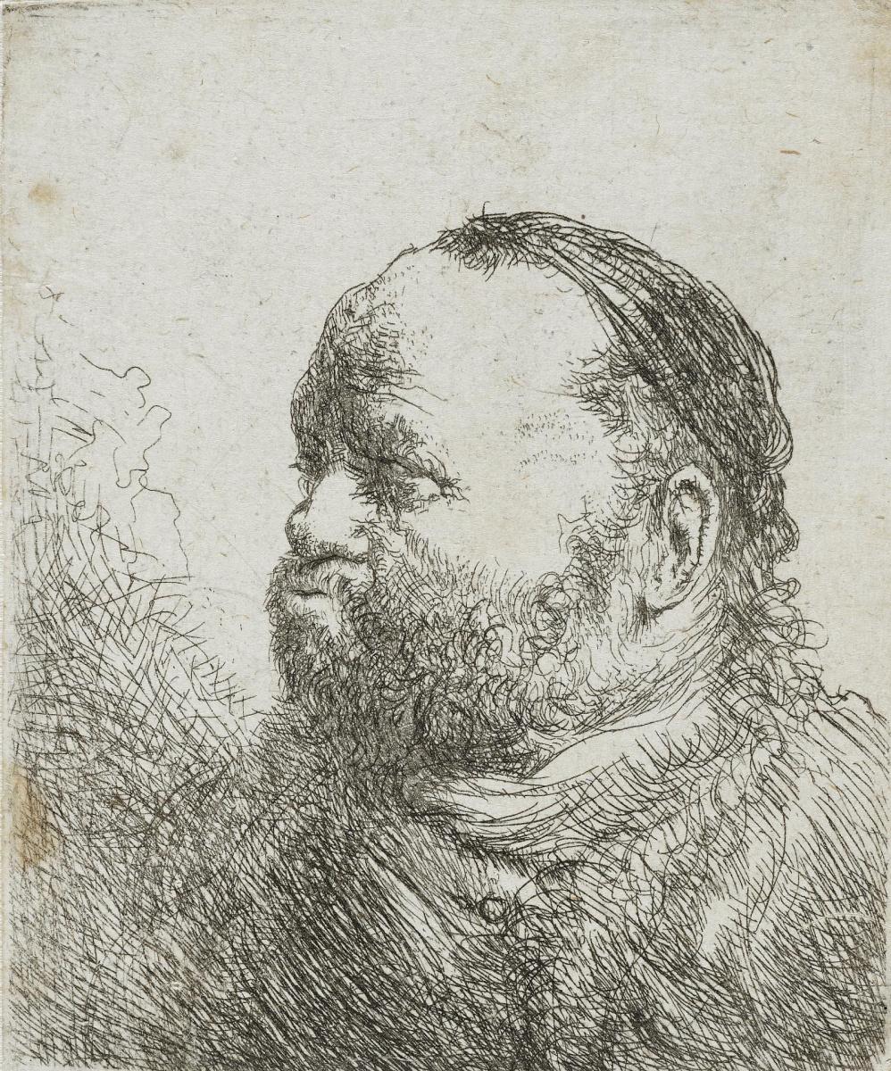 Ян Ливенс. Мужчина с пухлыми губами