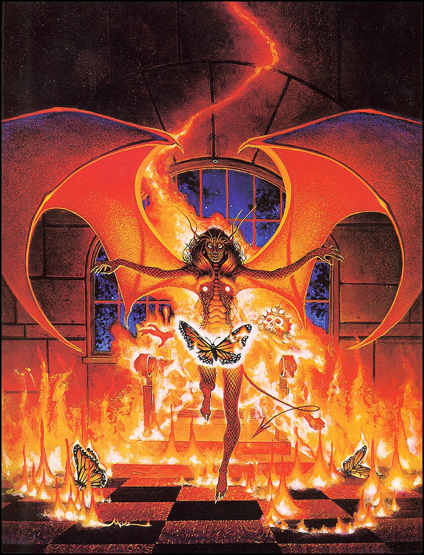 Don Maitz. Problems with the king