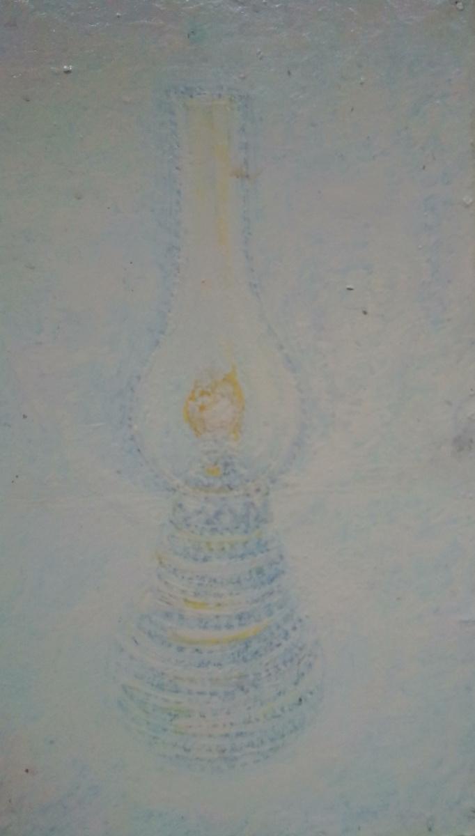 Вячеслав Коренев. Лампа на белом