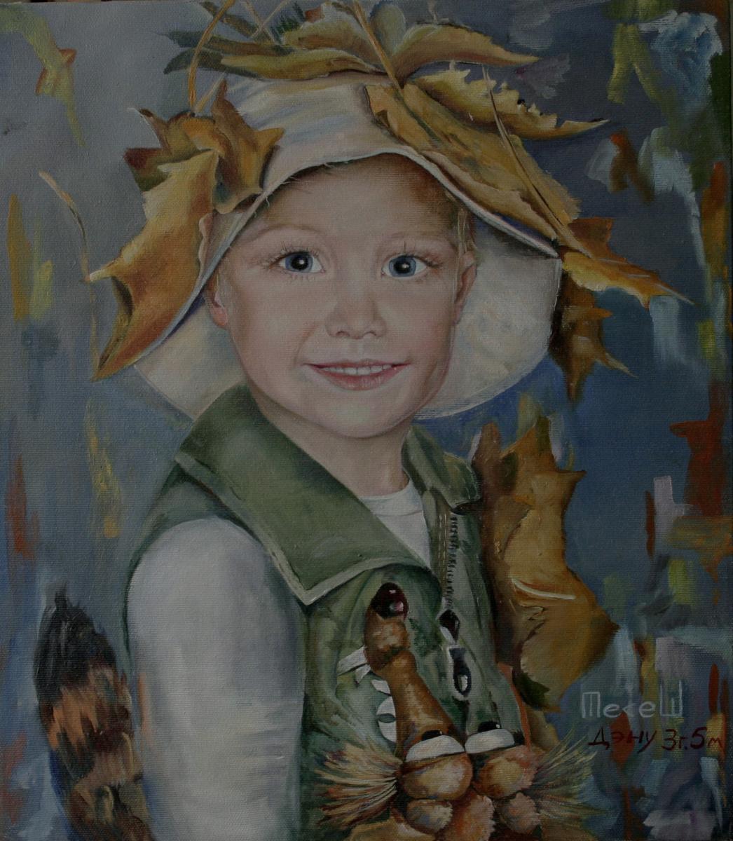 Nataliya Vladimirovna Telesh. Portrait