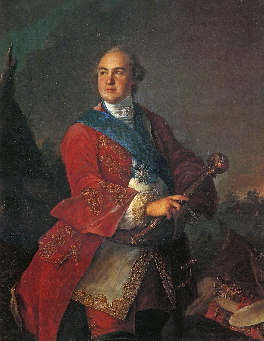 Луи Токке. Портрет графа К. Г. Разумовского