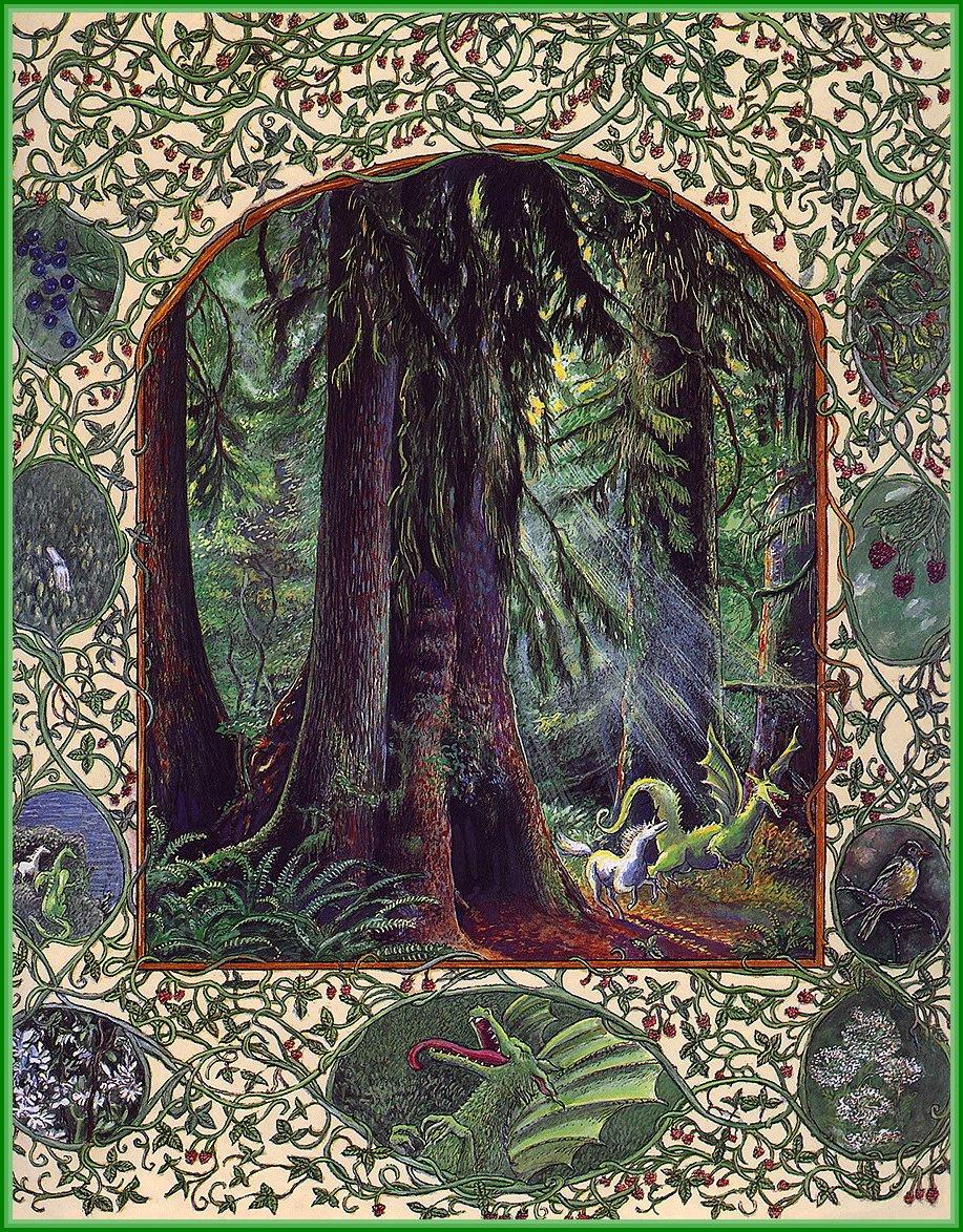 Линн Черри. В лесу