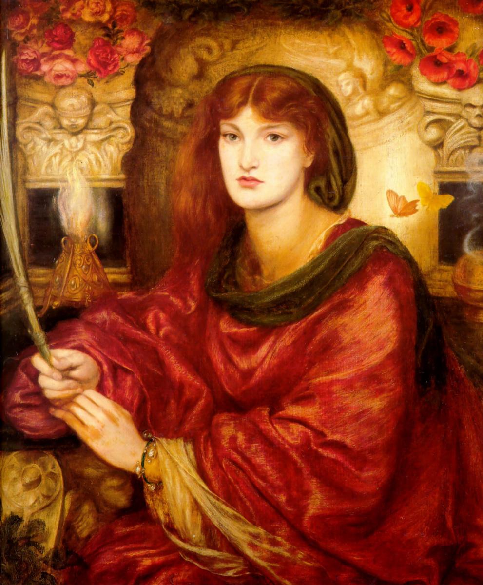 Dante Gabriel Rossetti. Sibyl of Palmavera (Venus of Palmavera or the beauty of the soul)