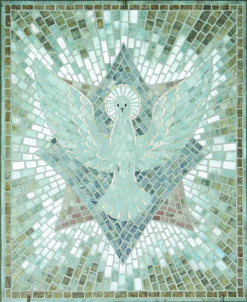 "Aleksei Zagorskij. ""The Dove,"" ""The Holy Spirit"""