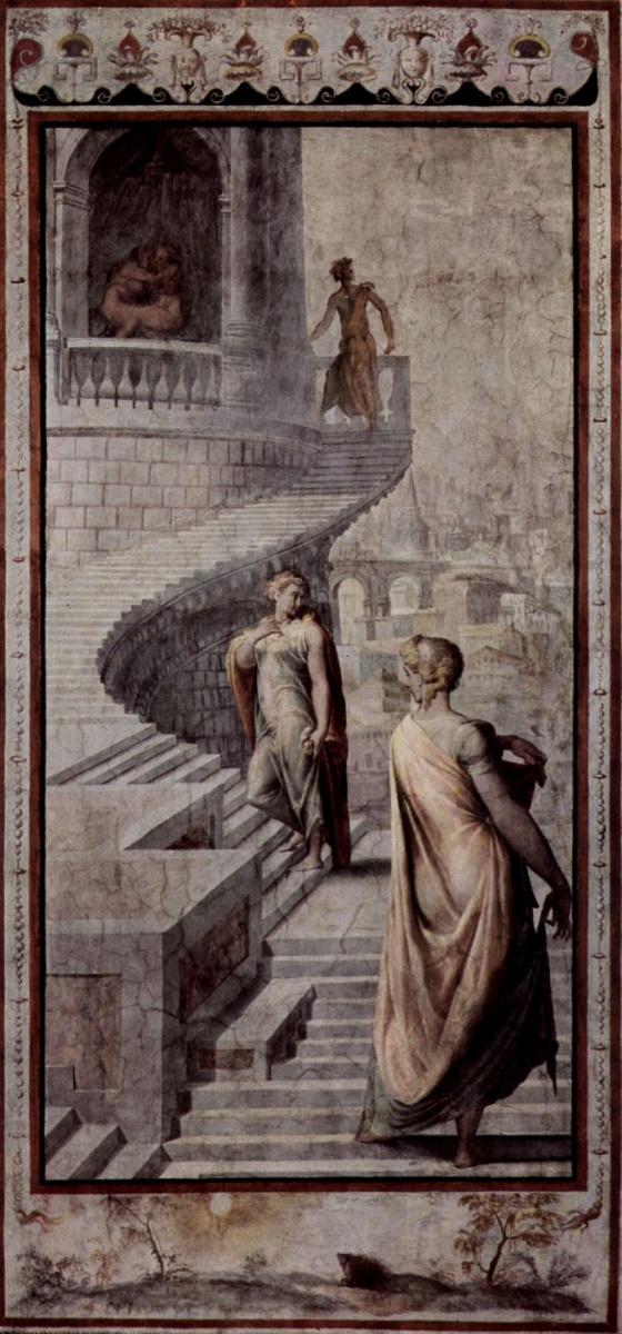 Франческо Сальвиати. Вирсавия отправляется к Давиду