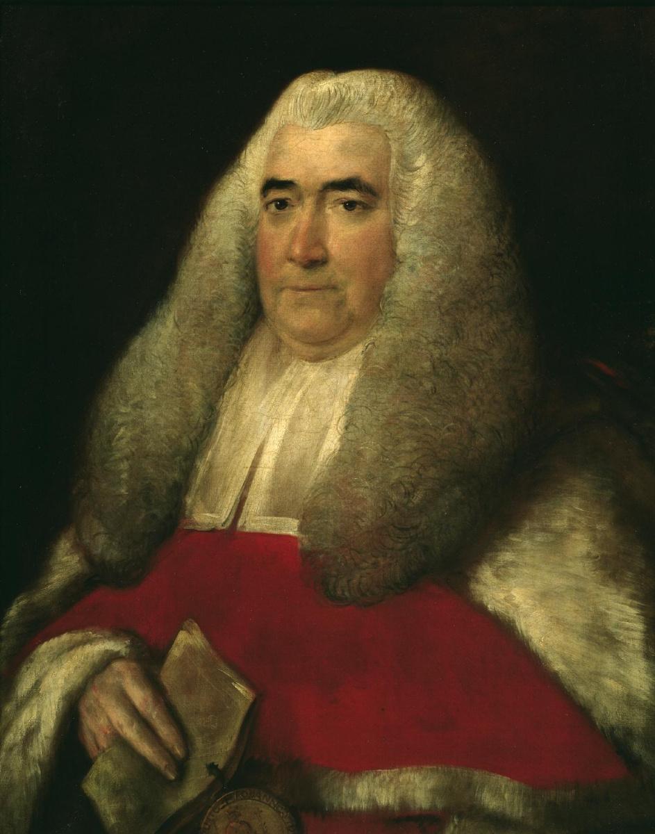 Thomas Gainsborough. Sir William Blackstone