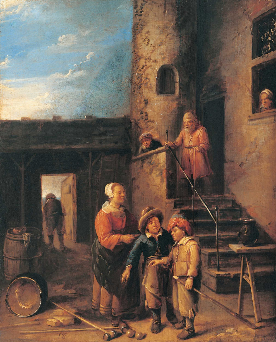 Гиллис ван Тильборг. Игроки в шары