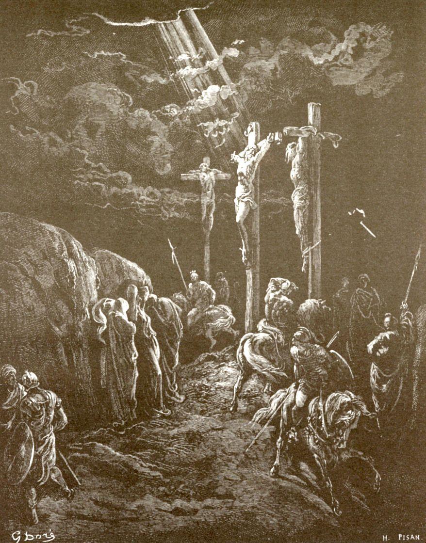 Поль Гюстав Доре. Смерть Иисуса Христа