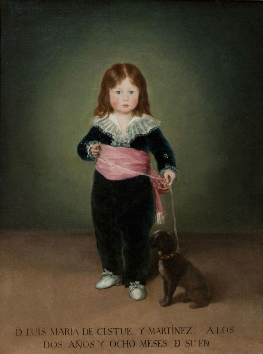 Франсиско Гойя. Портрет Луиса Марии де Кистуэ-и-Мартинеса