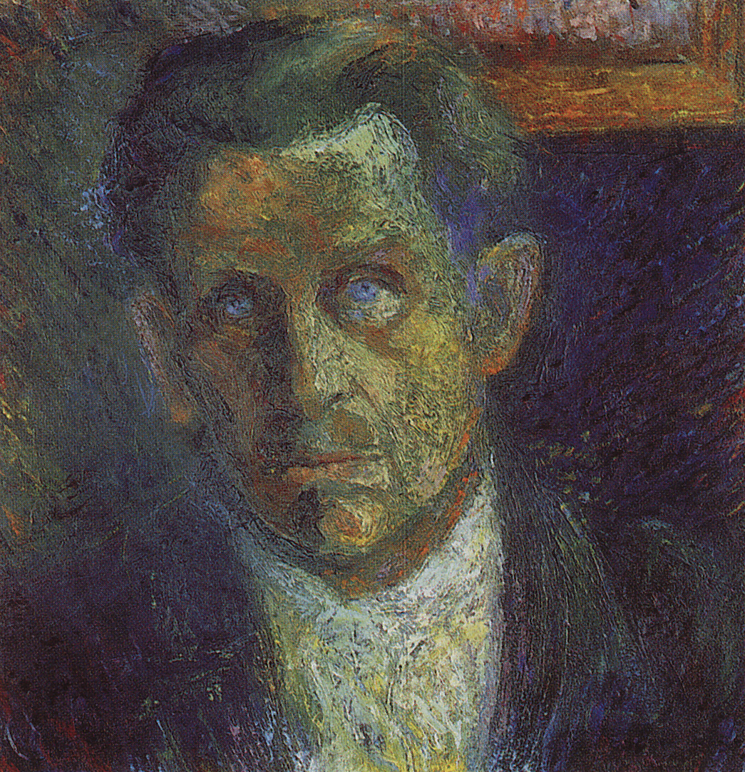 Kazimir Malevich. Portrait Of I. V. Klune