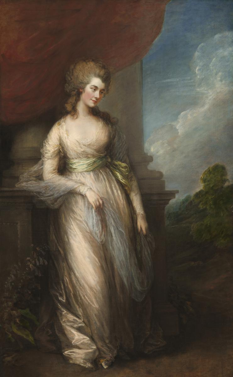 Thomas Gainsborough. Georgiana, Duchess of Devonshire