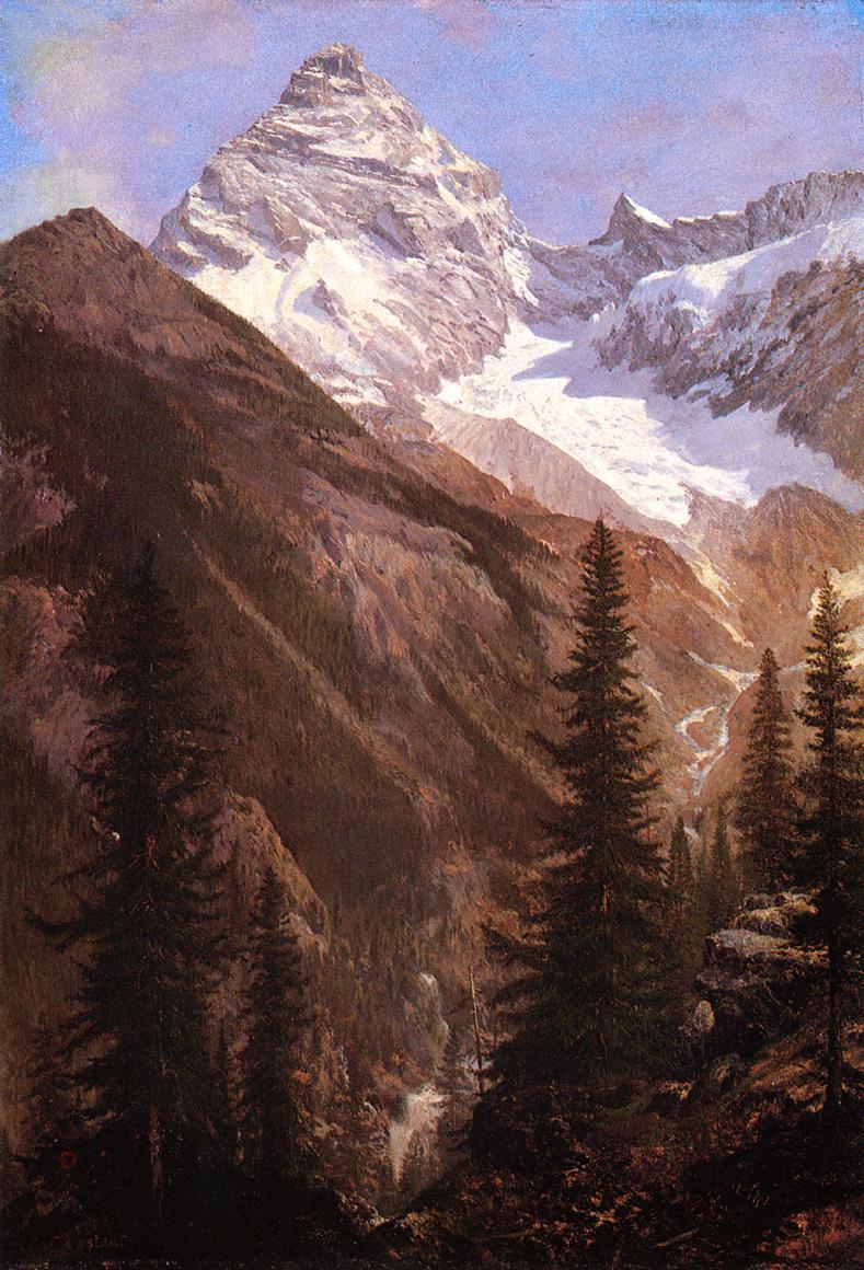 Альберт Бирштадт. Канадские скалистые горы