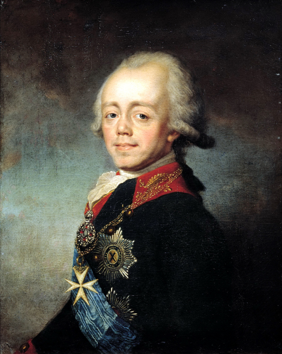 Степан Семенович Щукин. Портрет императора Павла I
