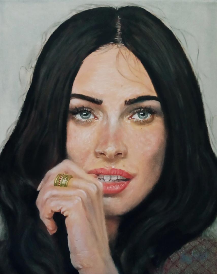 Argishti. Portrait of Megan Fox