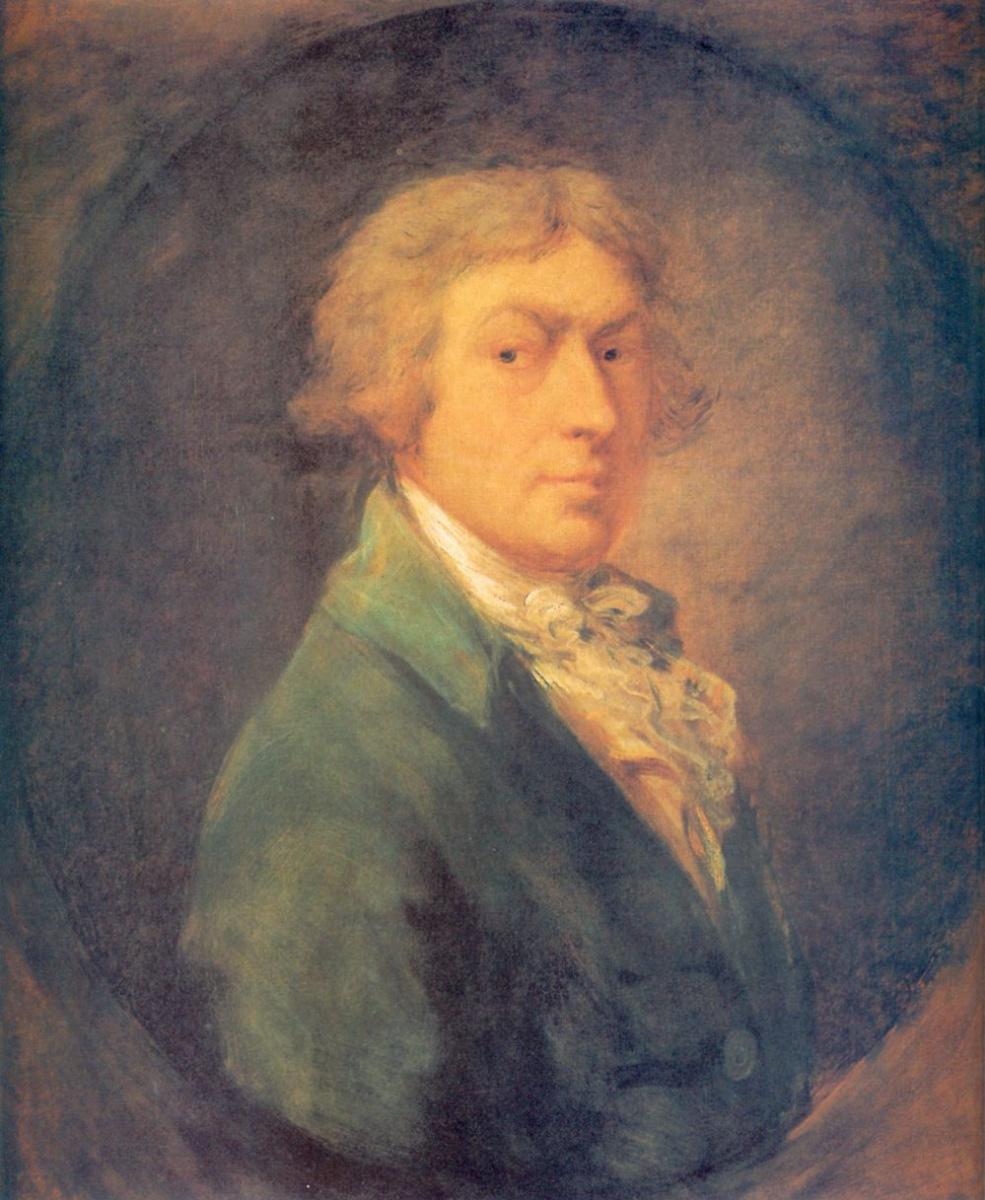 Томас Гейнсборо. Портрет художника