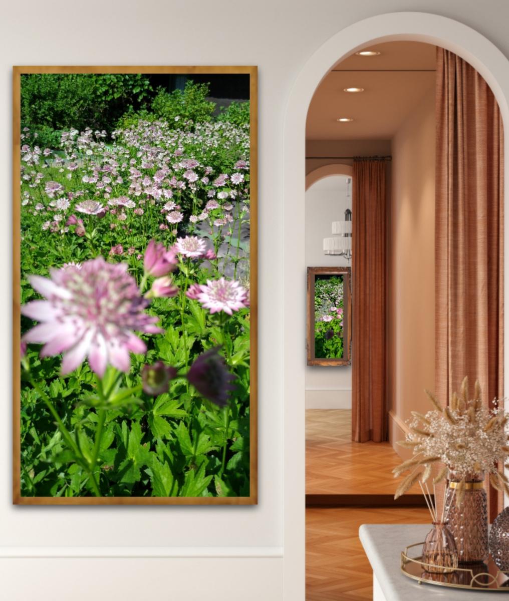 Natalya Garber. Astrantia Garden. Photo duet for halls and corridors