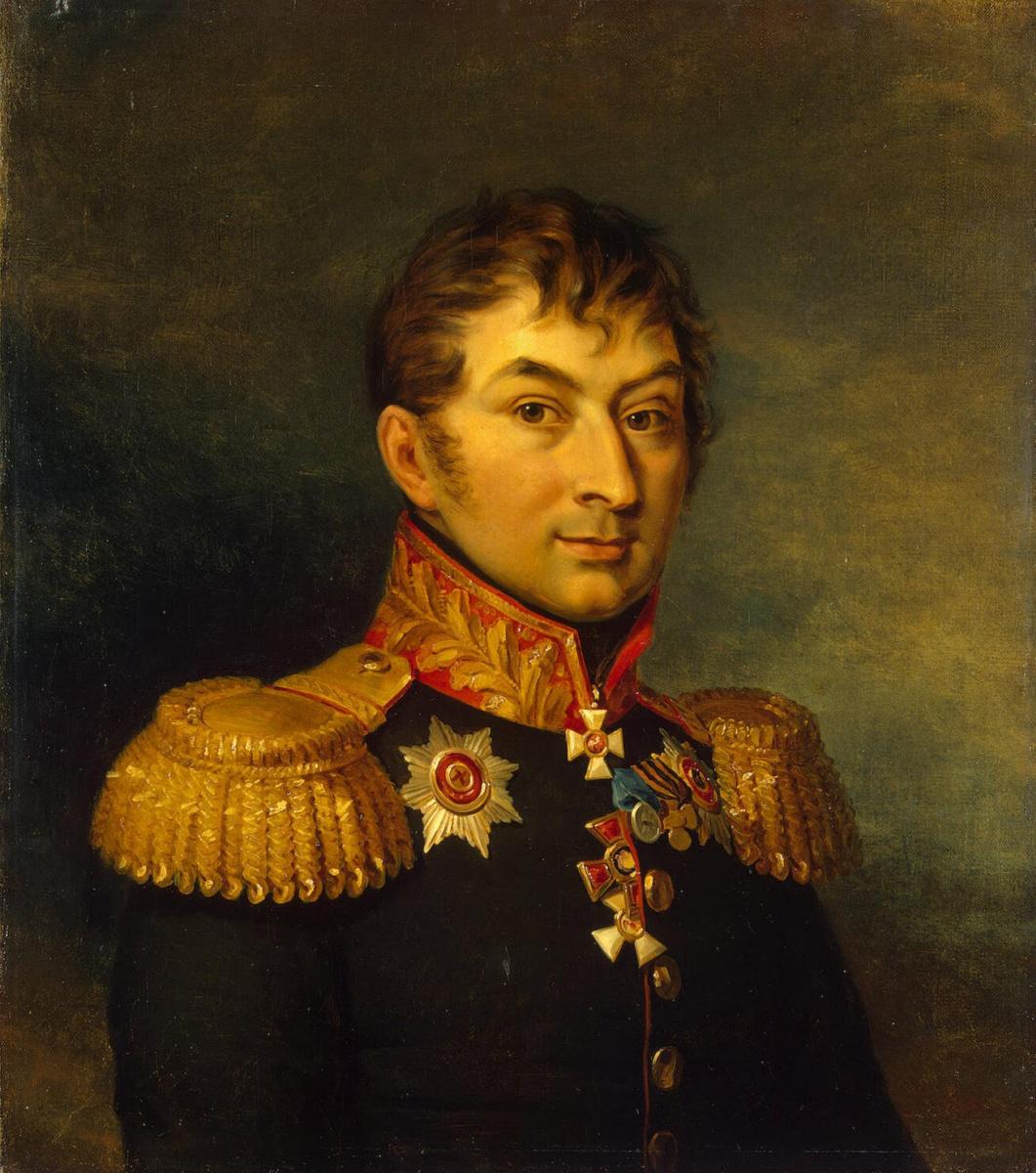 Джордж Доу. Портрет Ивана Давыдовича Панчулидзева