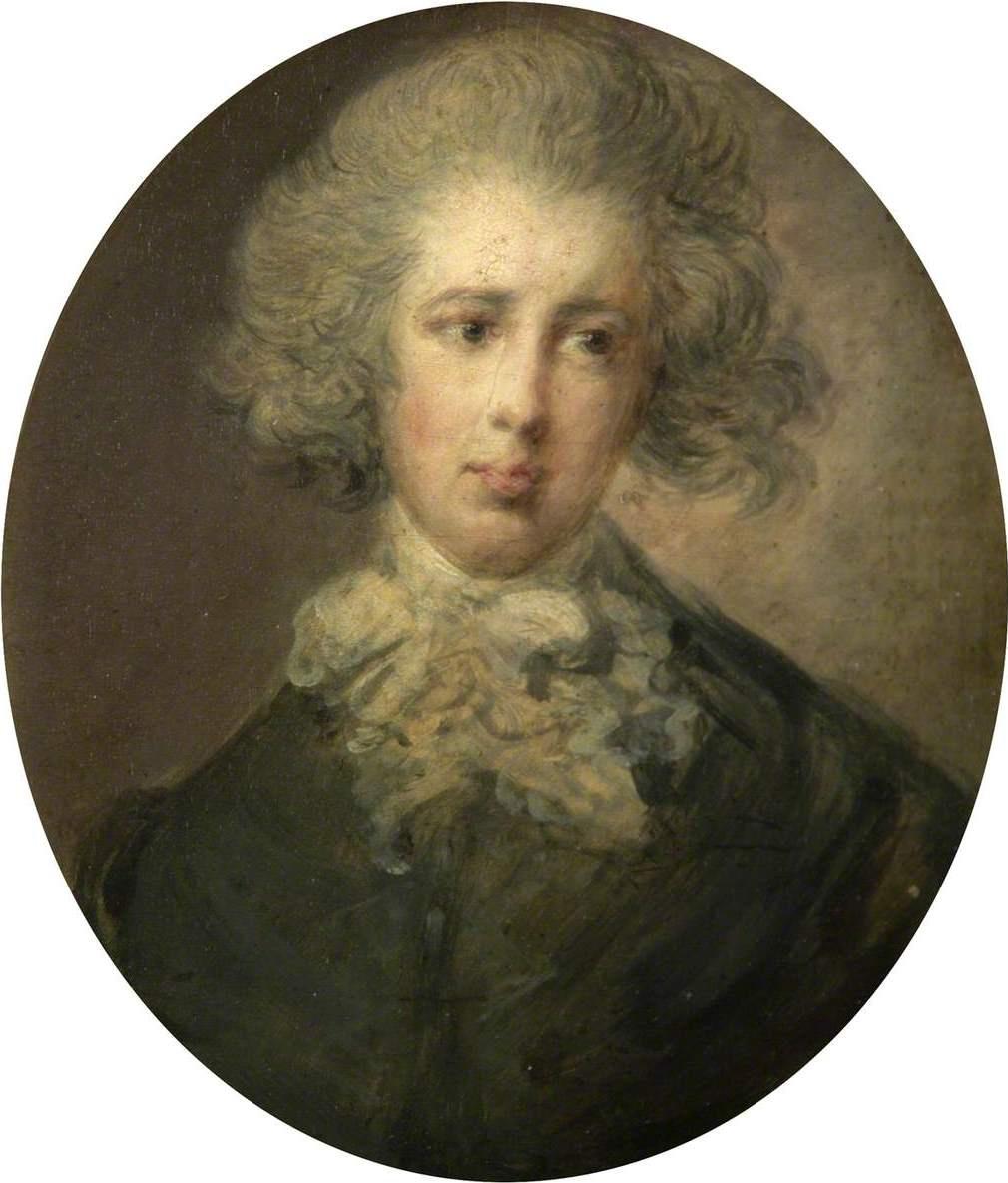 Томас Гейнсборо. Господин Говард, позднее герцог Норфолкский. Миниатюра